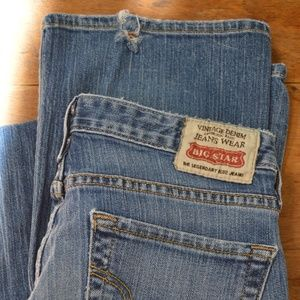 Big Star Jeans  Mia  Boot Cut  Size 27R X 33
